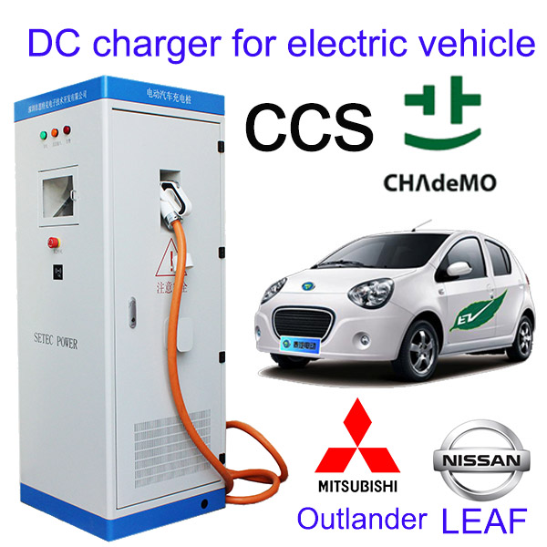 Fast Ac To Dc Electric Vehicle Charger For Nissan Leaf 40kw