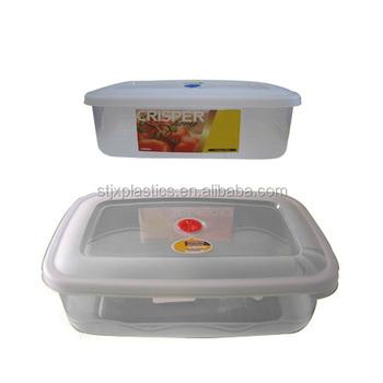 Bpa Free Retangular Food Storage