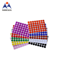 Wholesale Cheap Price Small Round Colorful Stickers Custom Colorful Dot Stickers