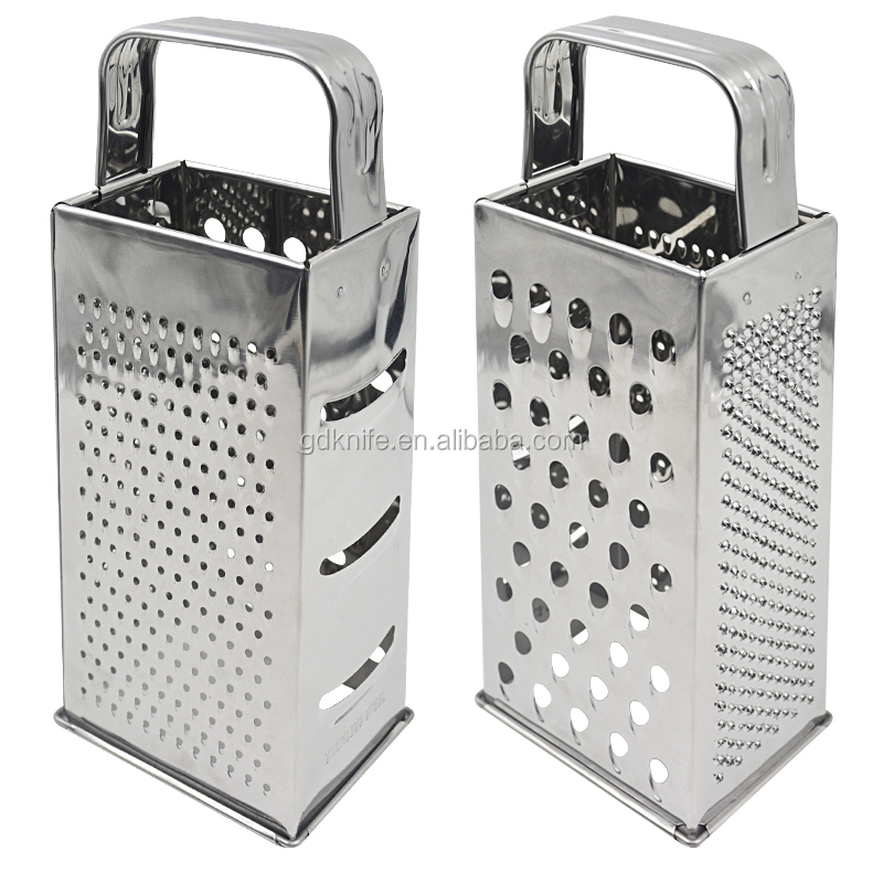 New eco-friendly multifunction stainless steel 4 side cheese vegetable grater
