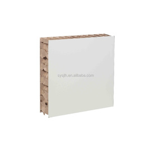 wholesale easy install paper honeycomb foam sandwich wall panel