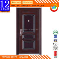 Low Price Security Door Grills Designs/Good Quality Steel Door/Steel Door Skin
