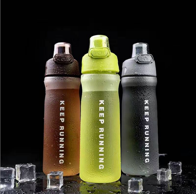 17OZ Large Capacity Fast Flow Leak Proof Lid One Click Open <strong>Sports</strong> Non-Toxic BPA Free & Eco-Friendly Tritan Plastic Bottle