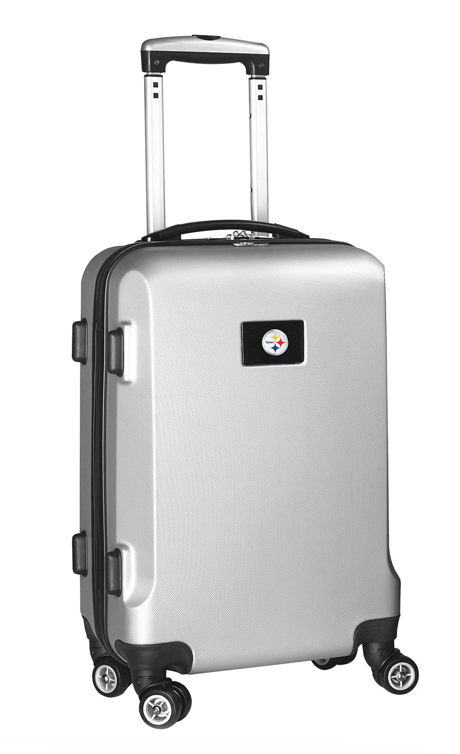 NFL Pittsburgh Steelers Carry-On Hardcase Spinner, Silver