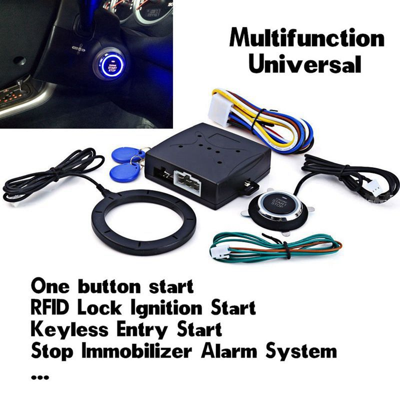 Smart Engine Start System Rfid Pke Keyless Enter