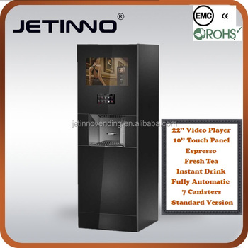 Coffee Vending Machine with Large Vedio Player