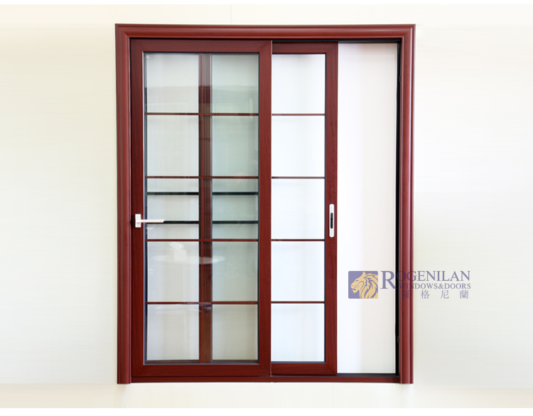 Rogenilan 80 Aluminium Lowes Interior Sliding Glass Patio