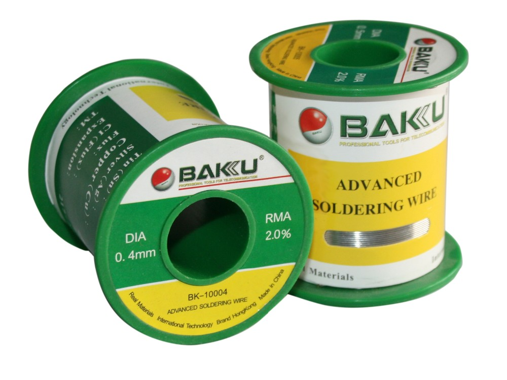 BAKU High Grade Hot Design Lead-Free Low Temperature super Tin Solder Wire making machine BK-100g