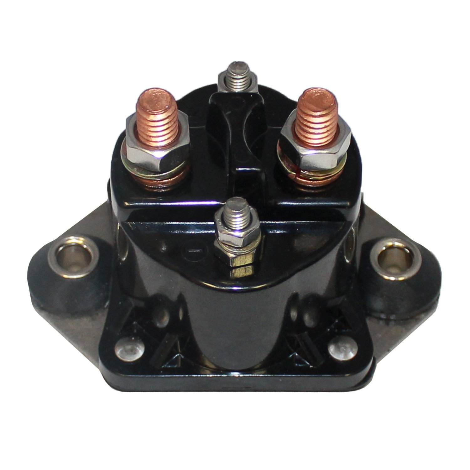Caltric STARTER SOLENOID RELAY FITS FORCE & MERCURY MARINE 75 75HP 75-HP