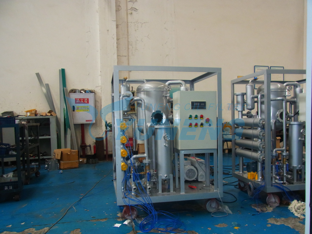 Single Stage Transformer Oil Dehydration Plant Degas and Dewater