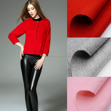 10% wool 40% arylic 50% polyester fabric women wool clothing fabric