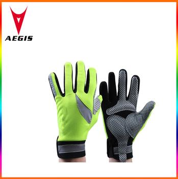Low Price Mountain Bike Gloves Colorful Full Finger Bike Gloves
