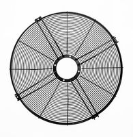 Black circular fan guard / air conditioner fan cover