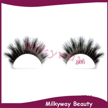 No806 Horse Hair Lashes Thick Crisscrossing Horse Fur Tip Fluffy ...