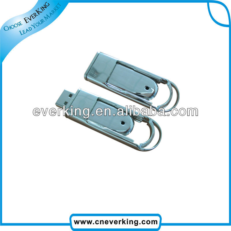 bulk low price usb metal thumb drive with 100% full capacity