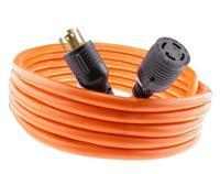J60050 Nema L14-30 Generator Power Cord 4 Wire 10 Gauge 125/250v 30 Amp 25 Feet