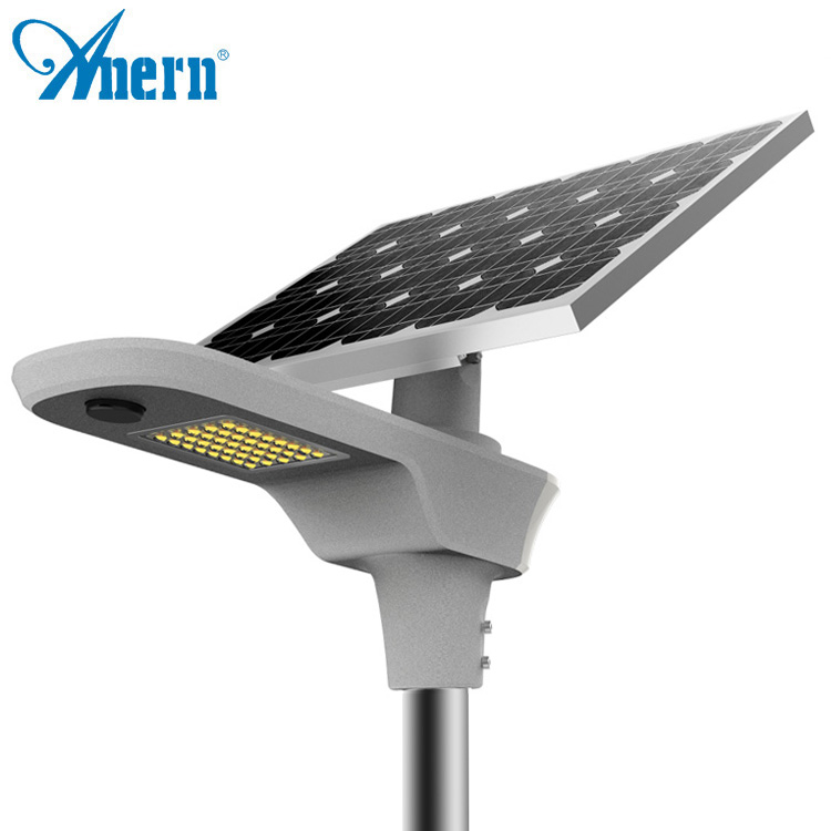 Anern 60w Integrated Street Light Solar All In One Ed Led Lights Well