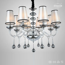 Clear glass chandeliers for England ETL84207
