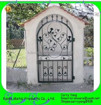 Ornamental Wrought Iron Small Gates, Antique Garden Gates