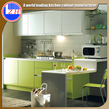 China Kitchen Cabinet Factory Supply Philippines High Gloss Kitchen Cabinet  For Wholesale