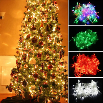 How To String Lights On A Christmas Tree Enchanting Wholesale 60m Led String Outdoor Holiday Christmas Tree Decorating