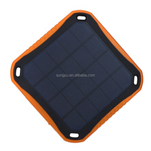 solar Power Bank for Mobile Phone 6000mah window solar panel charger for car