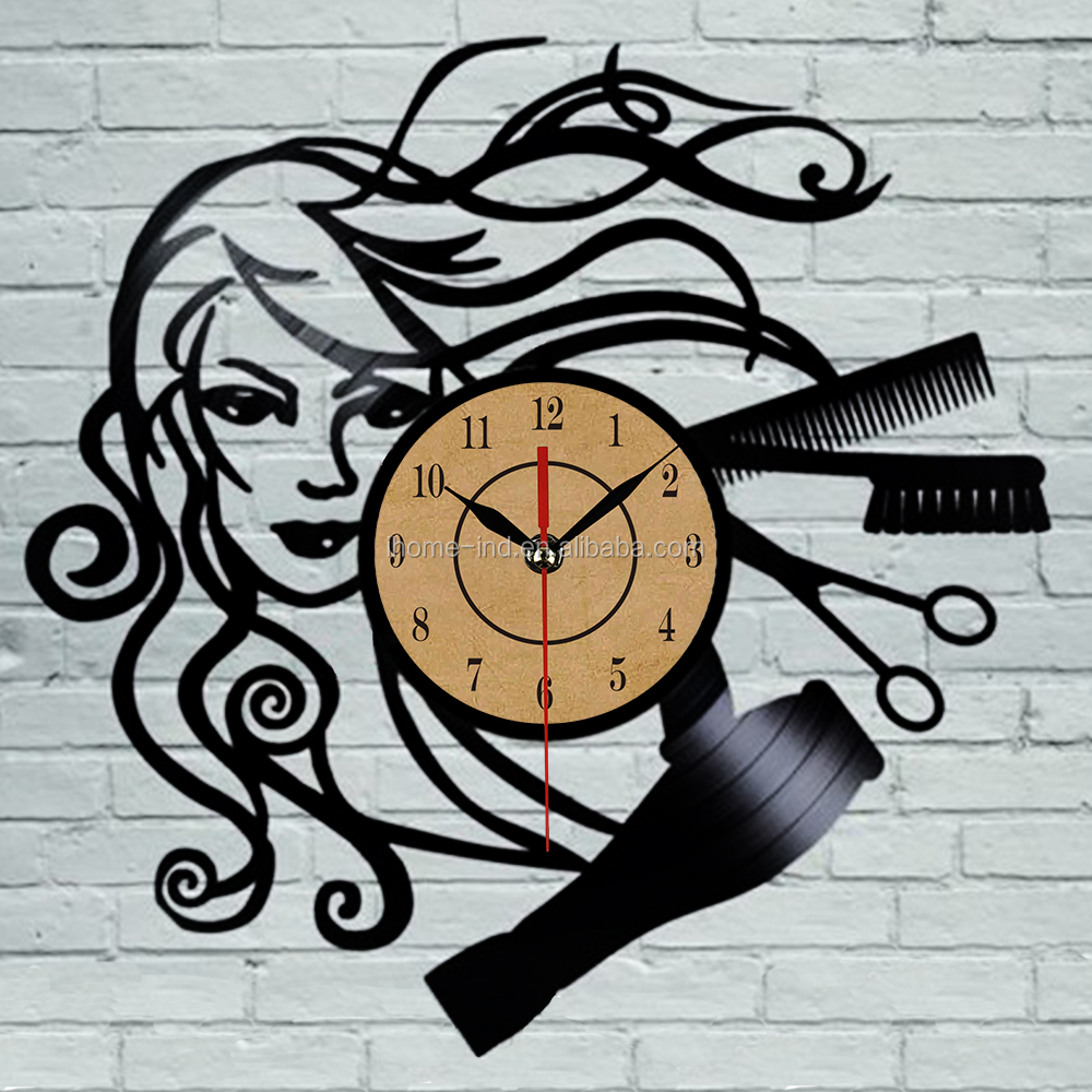 Disco de vinilo reloj de pared relojes de pared de corte - Relojes de pared ...