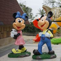 Fiberglass Cartoon Characters Garden Decoration