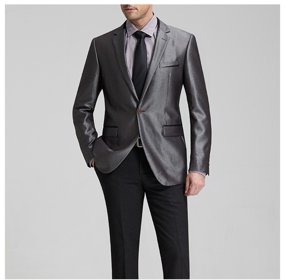 Fashaionable New Coat Pant Designs Men Plus Size Suit