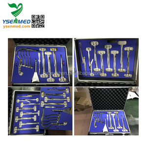 W-FB Top Quality Operation Room Use Abdominal surgery instrument kits fully Stainless Steel Abdominal Surgical Instrument Set