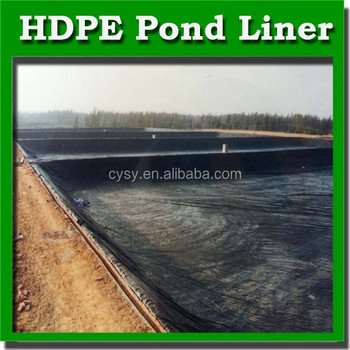 Hot Sale Fish Farm Pond Liner Hdpe Geomembrane Price