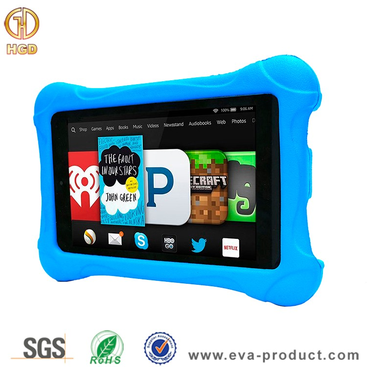 Ultra light weight eva foam drop proof case for kindle 7th generation