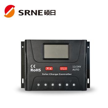 Srne 12/24v 60a Solar Charge Controller - Buy Solar Charge Controller  Circuit Diagram,Cmtd 10a 20a 12v 24v Manual Solar Charge Controller,Solar