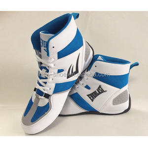 Men's boxing shoes high kick shoes for boxer custom logo boxing boots
