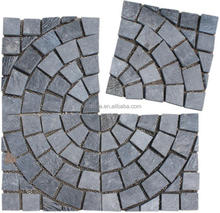 Beautiful paving stones for park natural grey rusty cheap flagstone