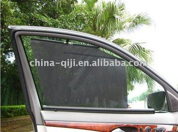 Roll Up Sun Shades >> Side Mesh Auto Window Blind Awning Sun Protection Automatic Roll Up