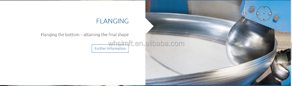 rolled &100% welded plate for stock toriconical conical head