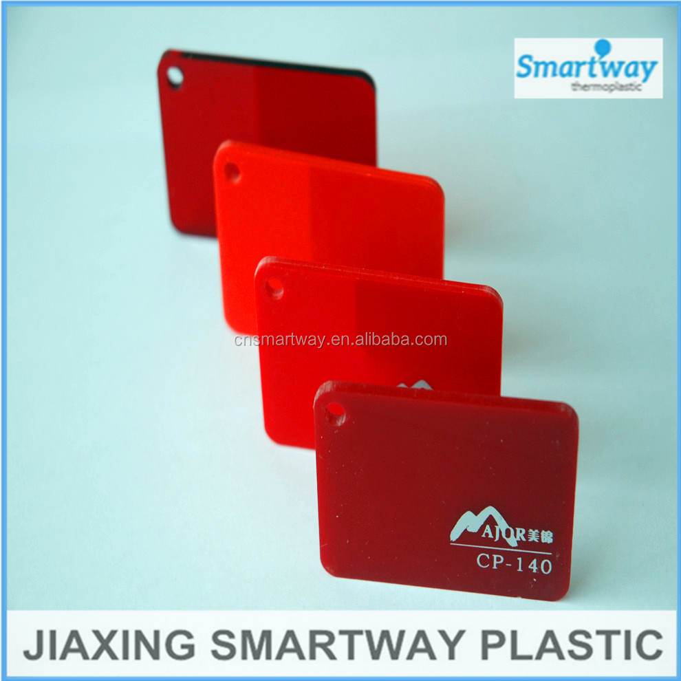Colored cast acrylic sheet - Wholesale Heat Resistant 3mm Color Clear Plastic Cast Acrylic Sheet Price