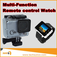 Hot mini action camera with remote control smart watch sports dv camcorder 2.7K 1080P 60fps slow motion time lapse action cam