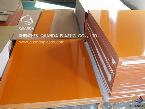 orange bakelite laminated sheet for furniture