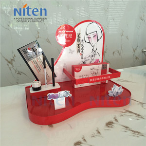 Cosmetic nail table, exhibition display stands