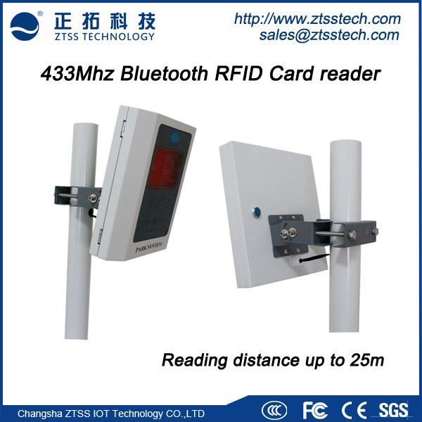 433mhz Long Range Bluetooth Rfid Card Reader With ...