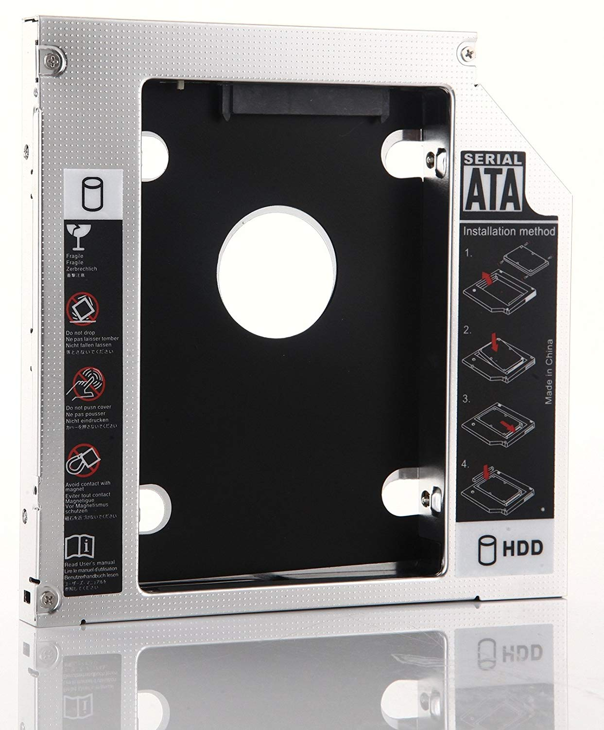 Get Quotations · DY-tech 2nd Hard Drive HD SSD Caddy for HP Pavilion dv6 dv6 -6154NR