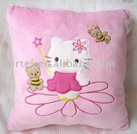 Short Pile Plush Cushion