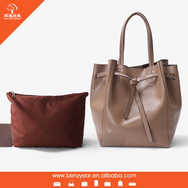 Guangzhou factory OEM bags genuine leather luxury ladies handbag brands 0682b51c6da08