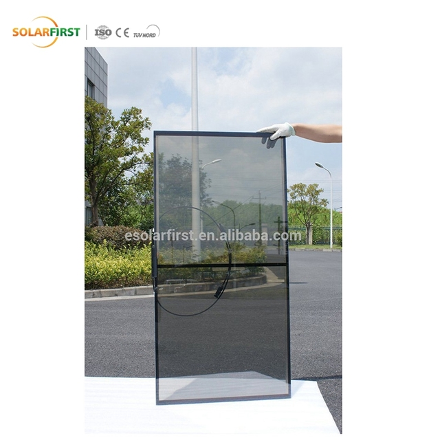 High Quality 40W Frameless Bipv Thin Film Solar Panel