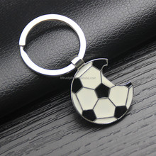 Beer Bottle Opener Cute key rings for Football Fans Wedding Anniversary Party Gift Football keychain Brand New