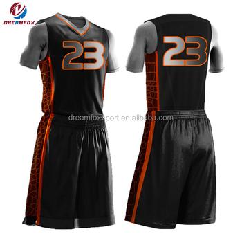 China Factory Oem Design Basketball Uniforms Online 70b16de17