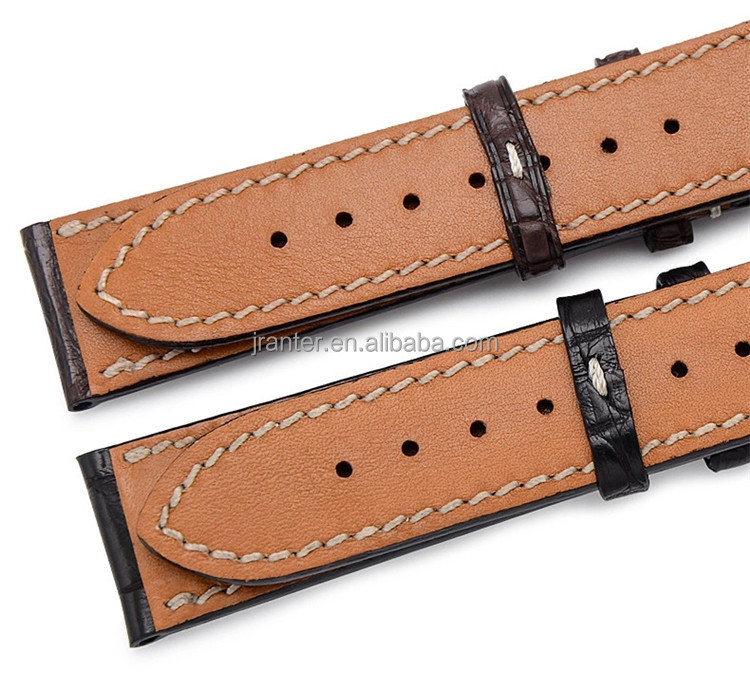 Luxury Watch Leather Strap for Apple Watch 100% Real Alligator