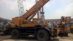 Japan Original 50 Ton KATO Rough Terrain Crane KR500 Very Cheap Price